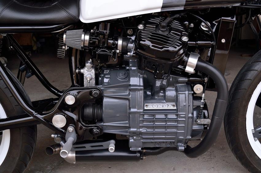 Honda CX500 by Kustom Research