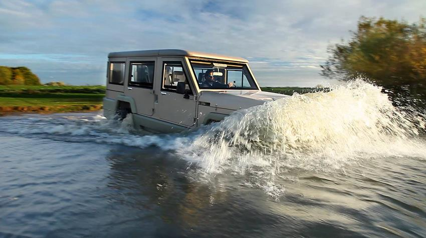 Amphicruiser 4X4 Amphibious Off-Roader