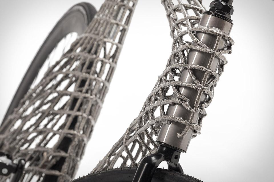 Arc 3D-Printed Stainless Steel Bicycle