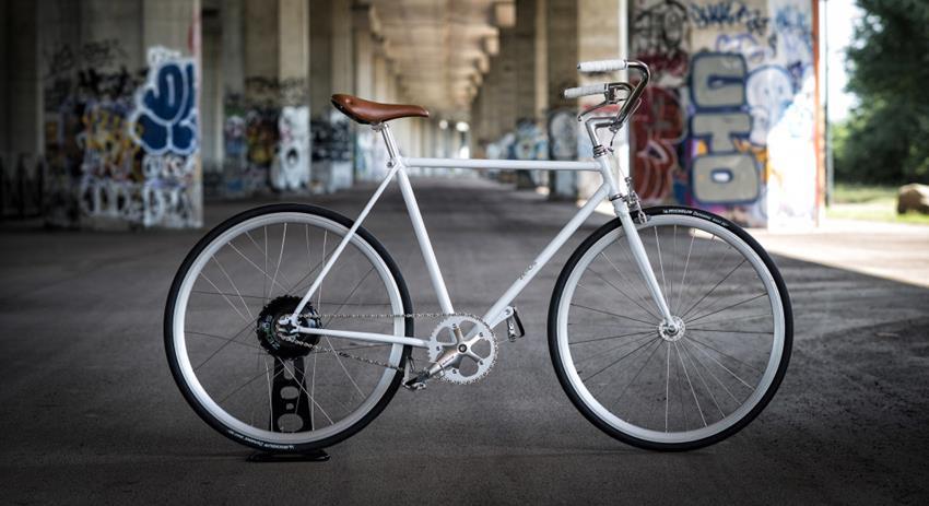 Bike+ Small E-Bike with Prius-Like Hybrid System