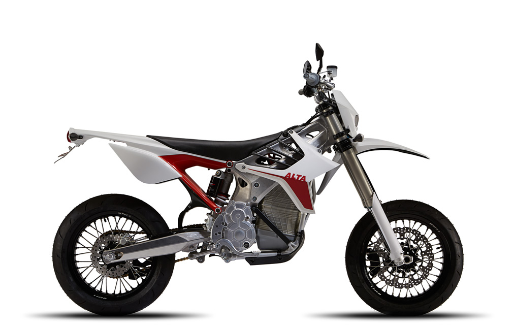 Redshift Electric Motocross Bike by Alta Motors