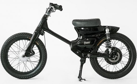 Honda eCub Electric Scooter by Shanghai Customs