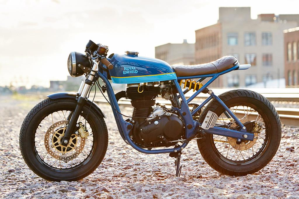 Custom Cafe Racer Motorcycle Chicago