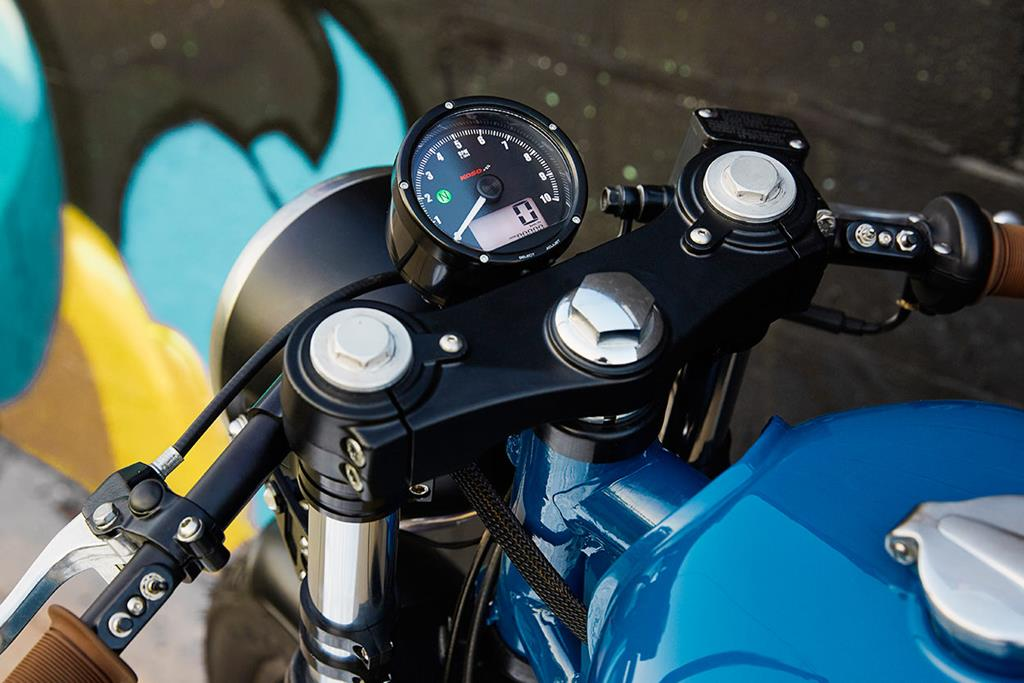 Custom Royal Enfield Continental GT - The Grand Trunk Express