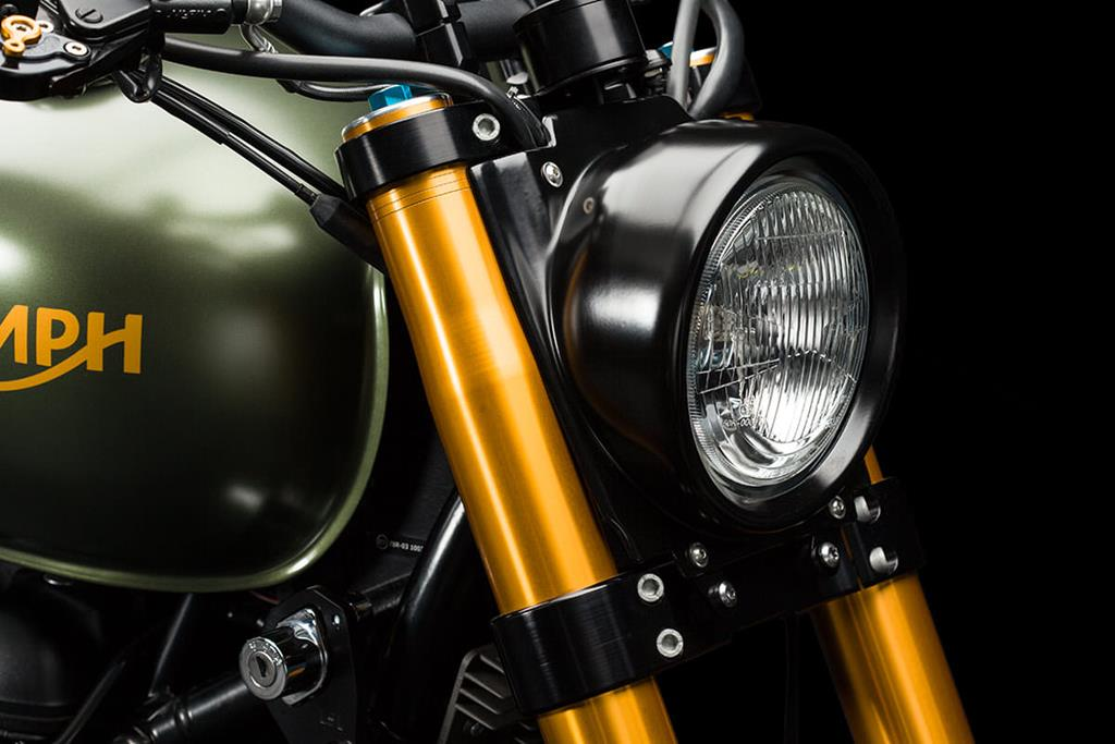 2014 Triumph Scrambler - The Hunter by Erne's Euromotos