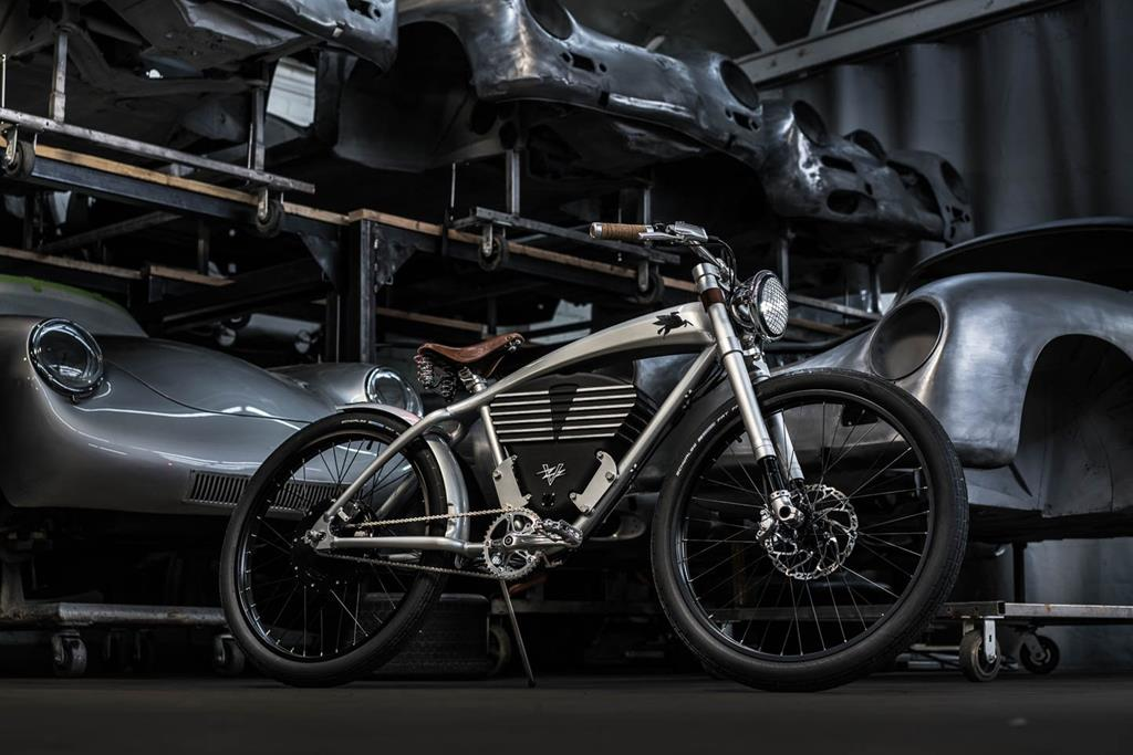 Emory Outlaw Tracker Electric Bike by Vintage Electric