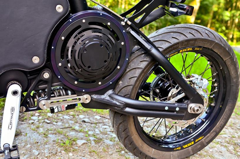 Gulas Pi1 Electric Motorcycle