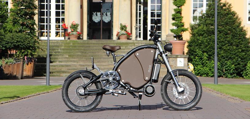 Gulas Pi1 Electric Motorcycle
