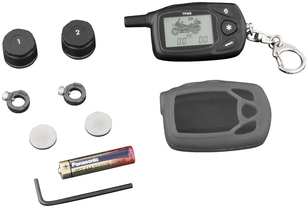 Motorcycle TPMS with small key-chain display