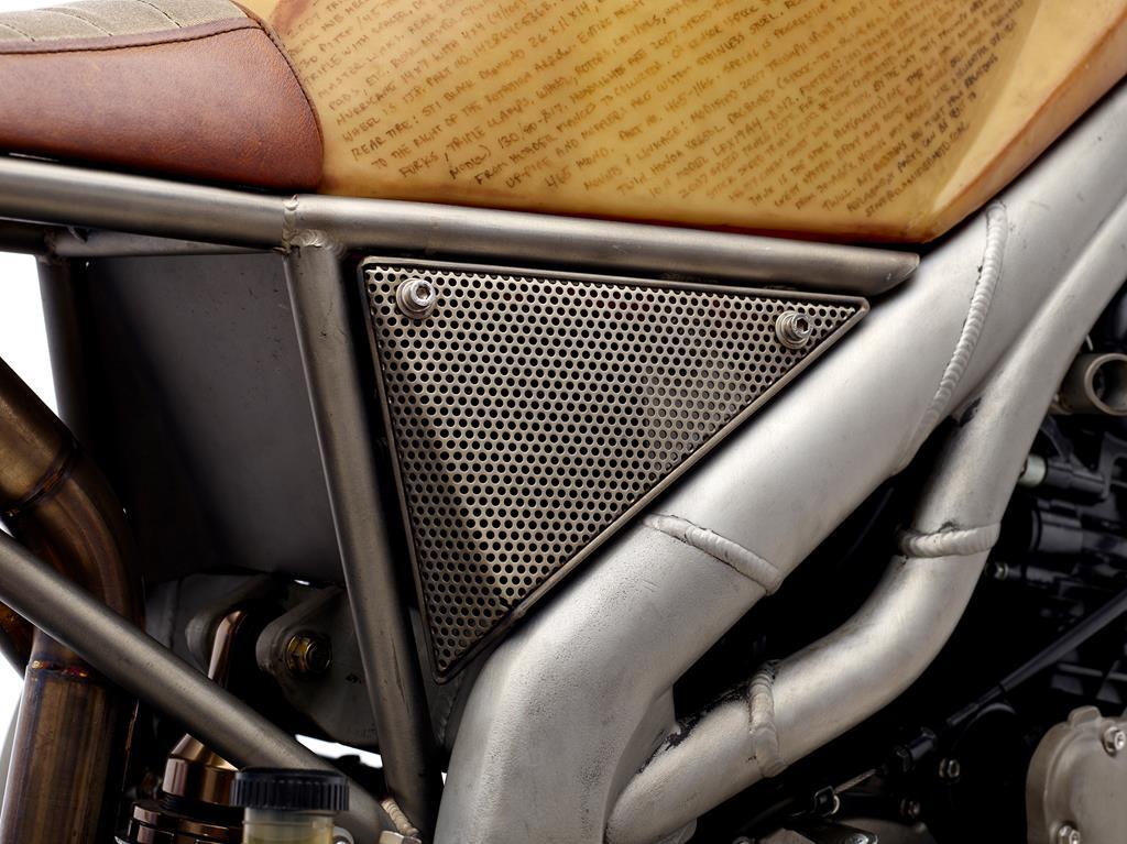 """2007 Triumph Speed Triple 1050 """"Rebel Yell Frank"""" by Classified Moto"""