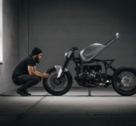 Custom BMW R100R Cafe Racer by Vagabund Moto