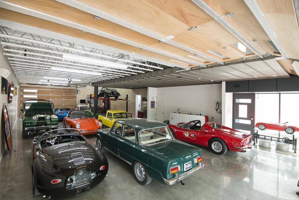 Home and Showroom for a Car Collector