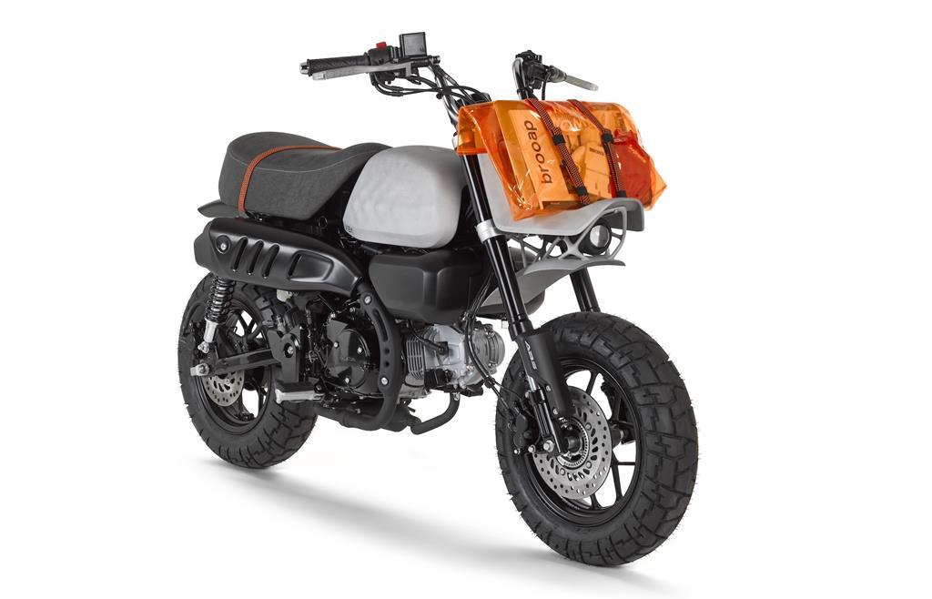Custom Honda Monkey Motorcycle Viba Jane Autonxt