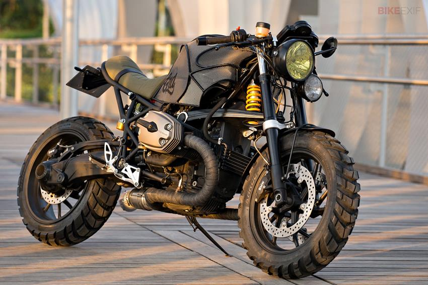 Cafe Racer Bmw Military